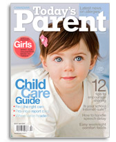 Today's Parent Magazine April 2008