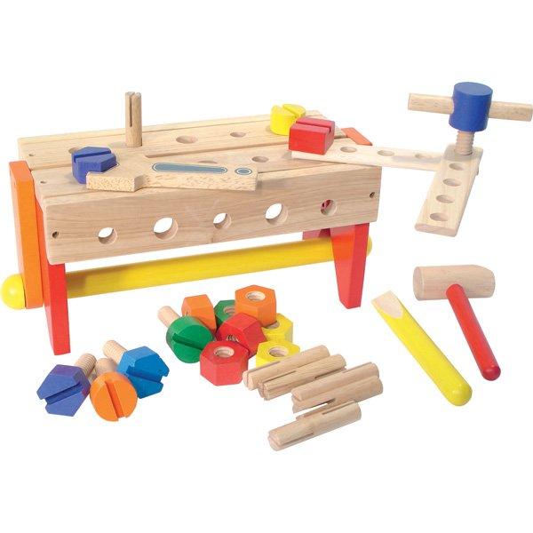 Mały majsterkowicz/ drewniany warsztat/konstruktor ...