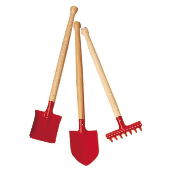 BabyNaturopathicscom Childrens Metal and Wood Gardening Tools