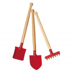 BabyNaturopathicscom Childrens Metal and Wood Gardening Tools