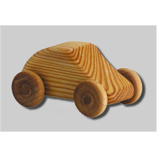 BabyNaturopathics.com - Debresk Small Mini Car Wooden Toy - Baby ...