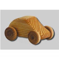 BabyNaturopathics - Debresk Small Mini Car Wooden Toy